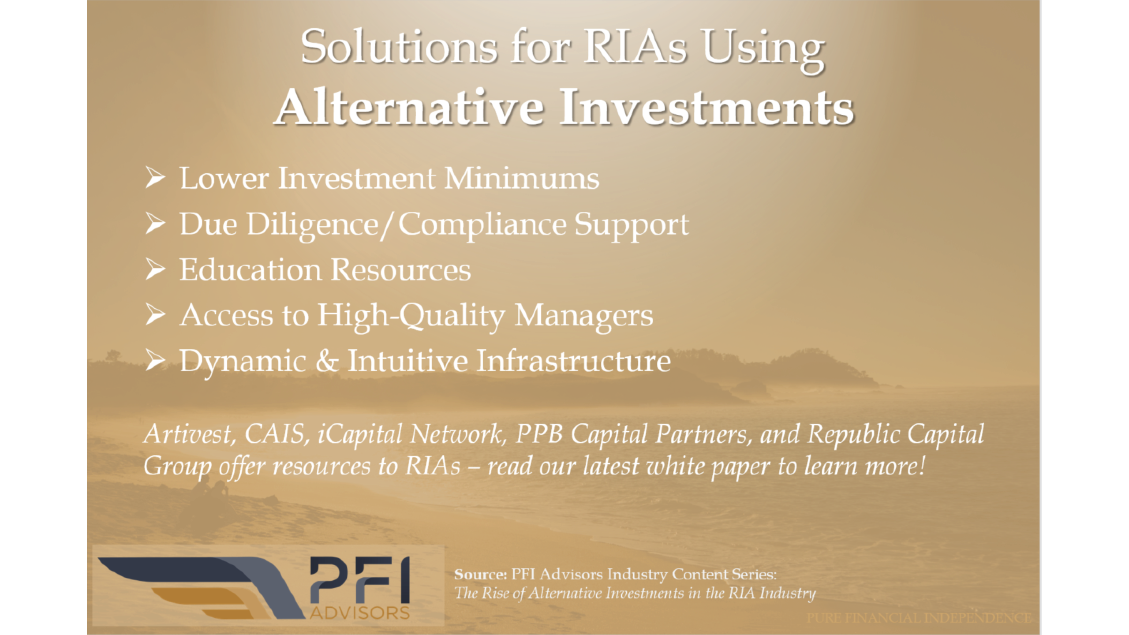 The Rise of Alternative Investments in the RIA Industry