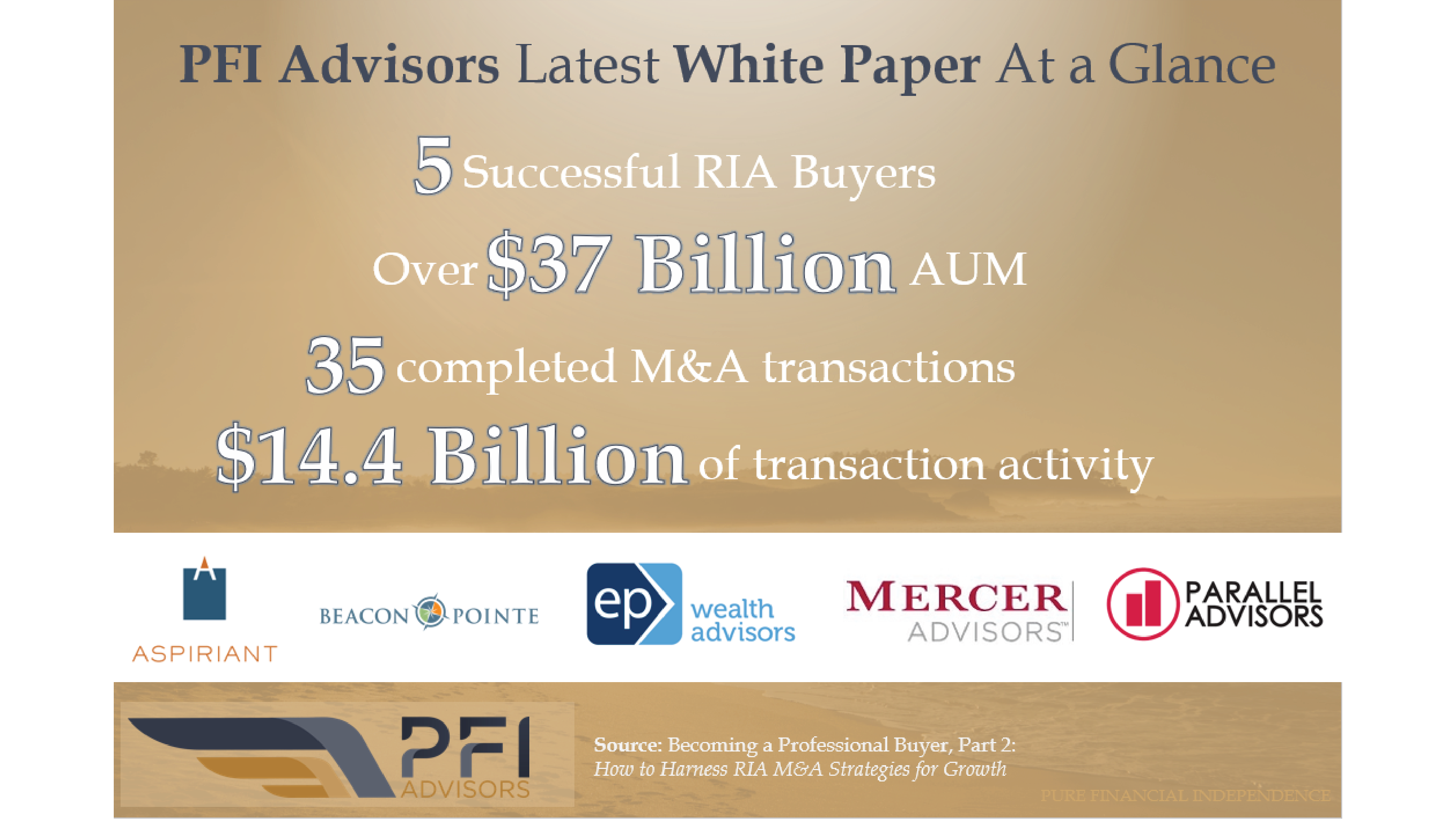 PFI Advisors White Paper: Becoming a Professional Buyer Part 2