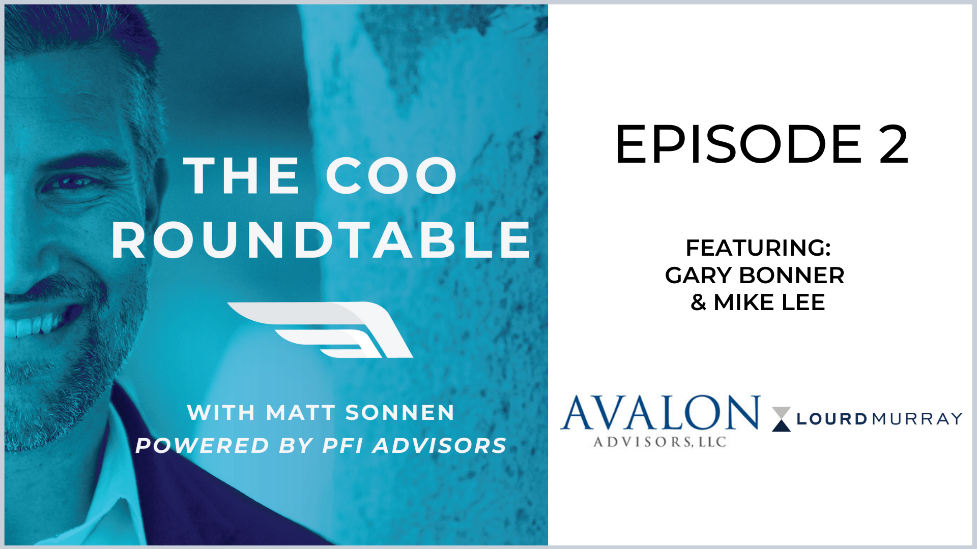 The COO Roundtable  Episode 2