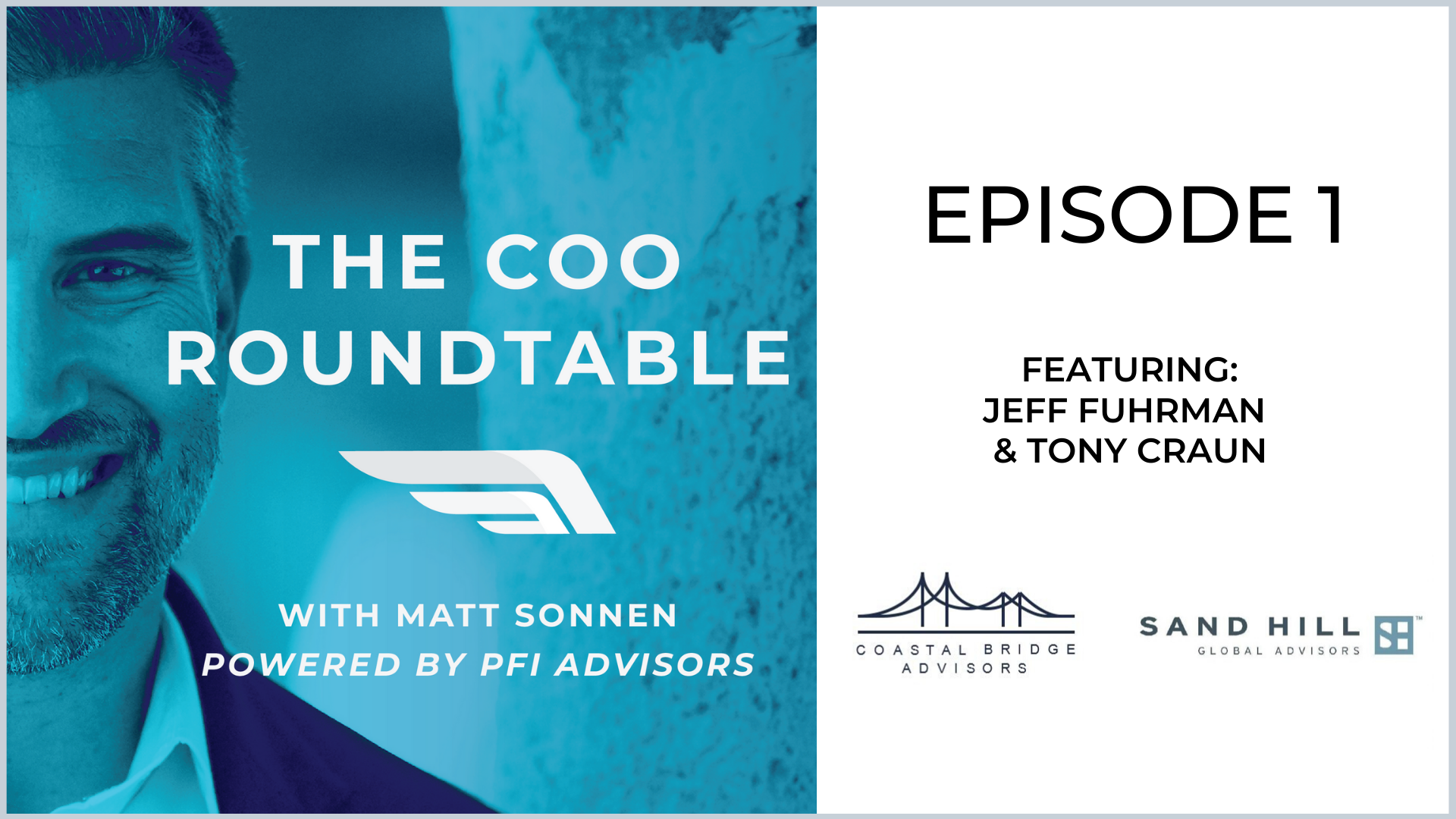 The COO Roundtable  Episode 1
