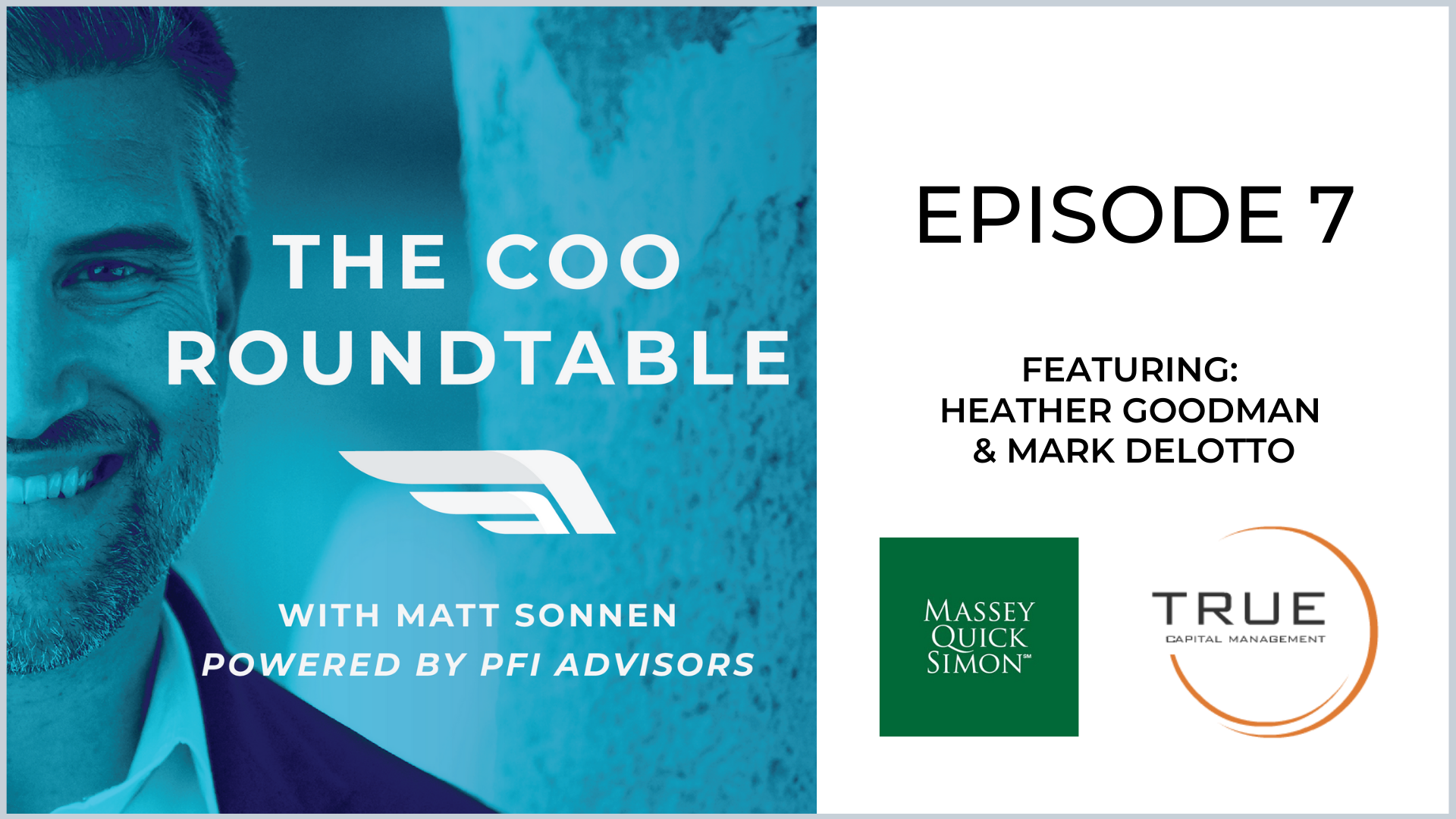 The COO Roundtable  Episode 7