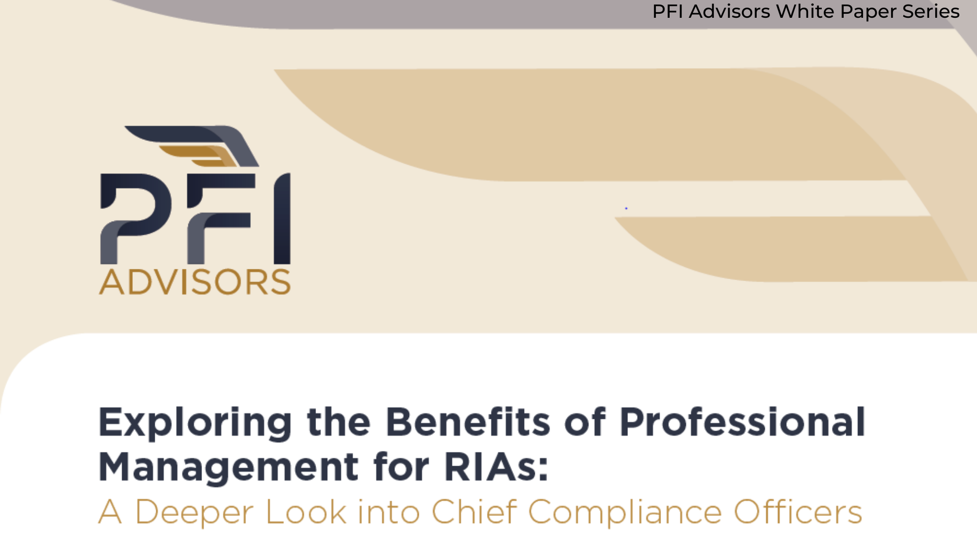 A Deeper Look Into The Role of  Chief Compliance Officers at RIAs