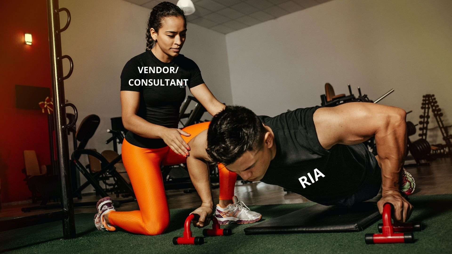 Vendors & Consultants Can't  Do The Push-Ups For You