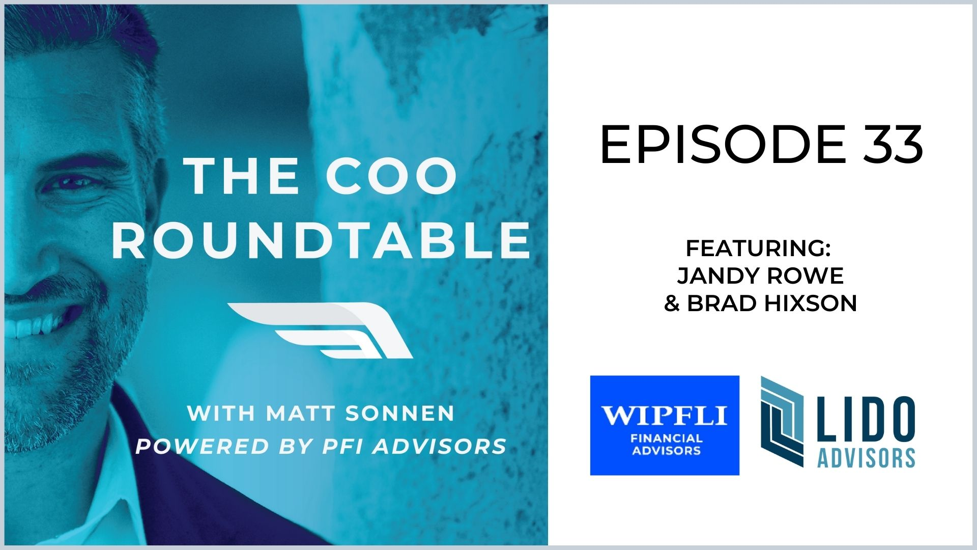 The COO Roundtable  Episode 33